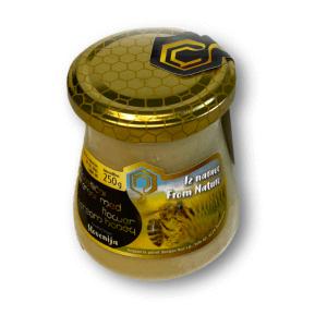Floral cream honey